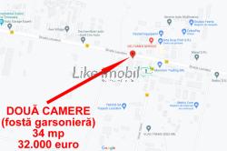 Vand doua camere in Popesti Leordeni, 34 mp